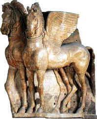 Tarquinia for Disegni cavalli alati